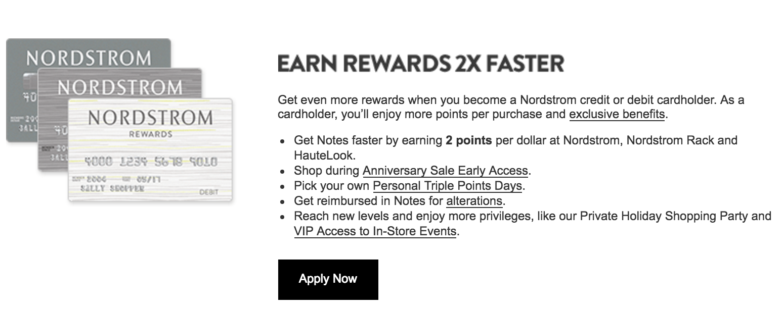 Nordstrom Rewards Program