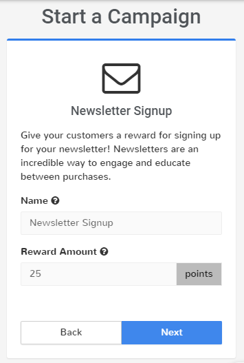 bp16 - newsletter signup campaign design screen swell