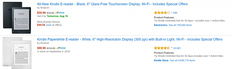 Product reviews are an important contributor to purchase decisions on Amazon.