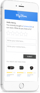 Yotpo automatically emails your customers to encourage review submissions.